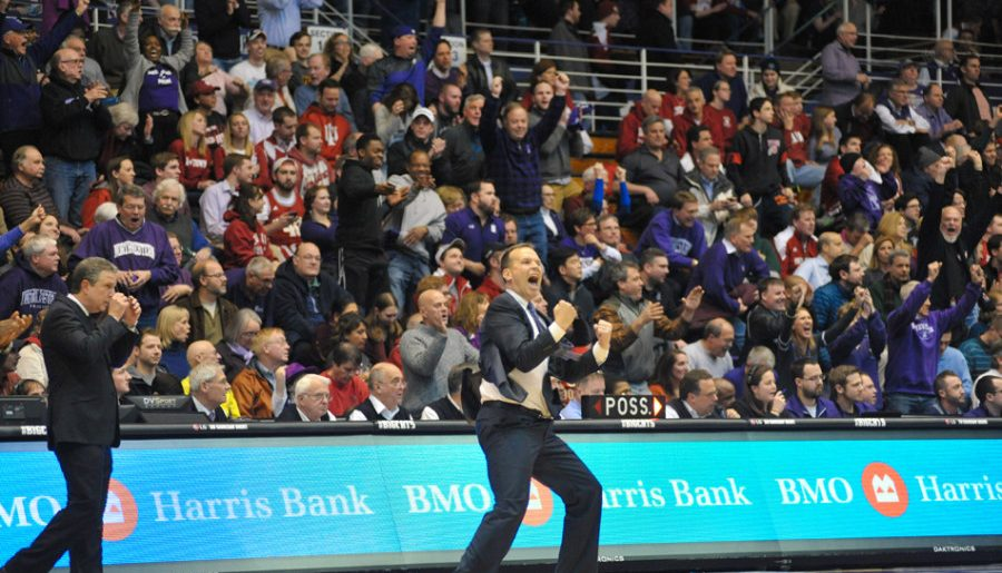 Men's Basketball: Notes from Northwestern's exhibition rout of Illinois-Springfield