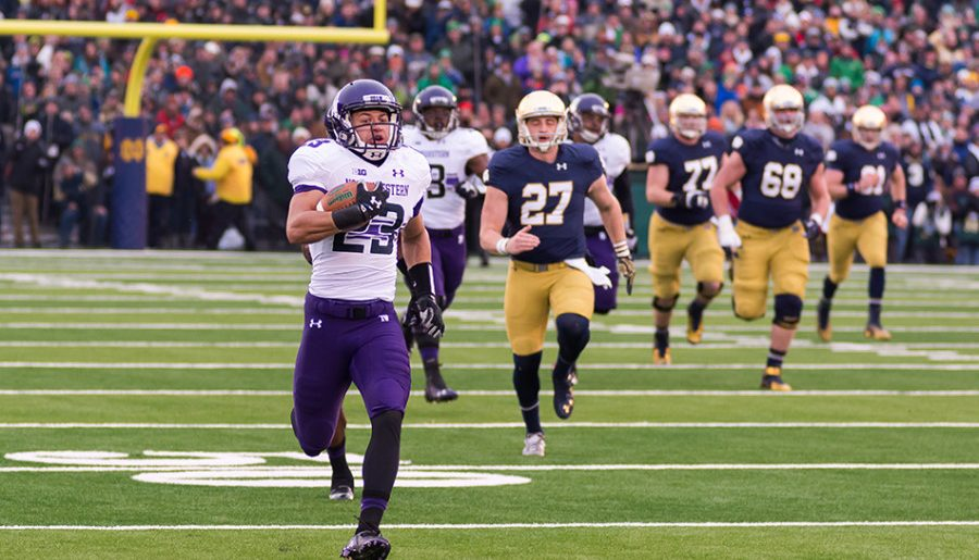 Northwestern football to get two prime time games