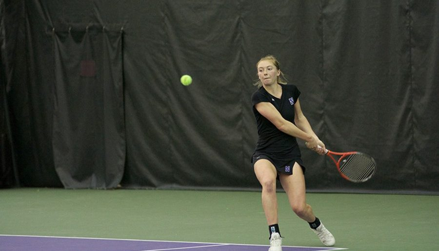 Women's tennis eliminated from Big Ten tournament