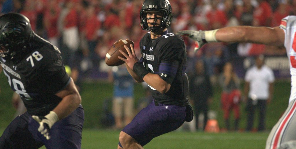 Northwestern to play Ohio State in prime time