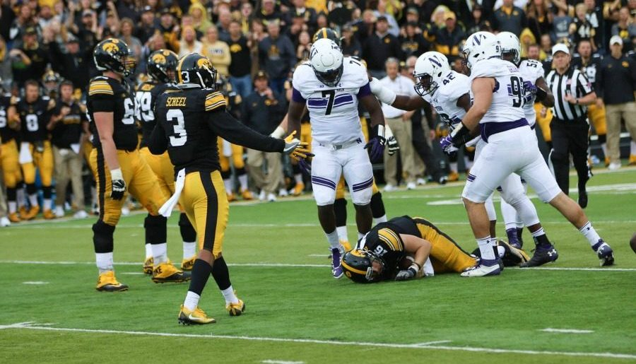 Ifeadi Odenigbo named First-Team All-Big Ten; Four others earn honors