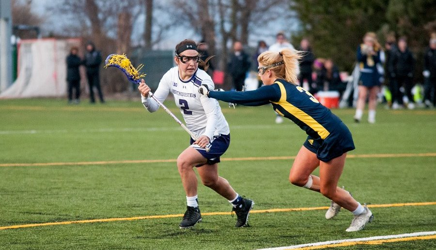 Northwestern lacrosse season ends in bitter defeat to Notre Dame