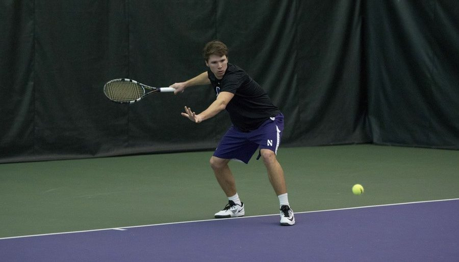Men's tennis advances to semifinals of Big Ten Tournament