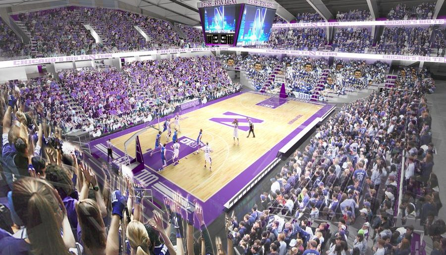Men's Basketball: 2017-2018 home games to be played in Allstate Arena during Welsh-Ryan renovations
