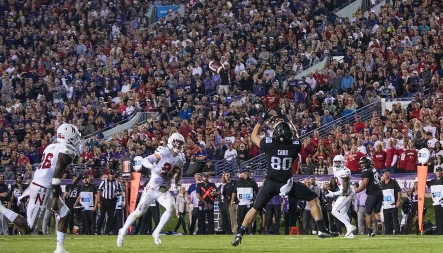 Football: Carr named Big Ten Receiver of the Year
